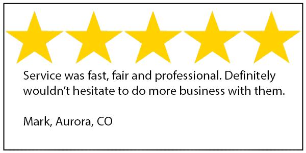 Aurora tree service 5 star review
