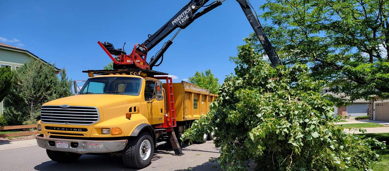 grapple truck services Denver CO