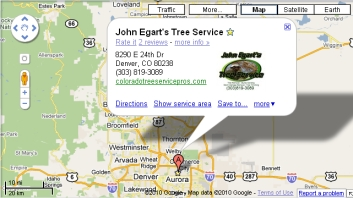 find tree removal in Aurora CO